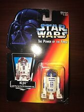 1995 STAR WARS THE POWER OF THE FORCE R2-D2 LIGHT-PIPE EYE PORT AND RETRACTABLE