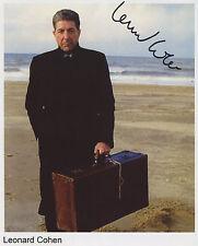 Leonard Cohen SIGNED Photo 1st Generation PRINT Ltd, No'd + Certificate / 2
