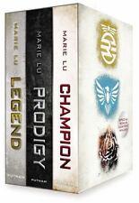 Legend Trilogy Boxed Set by Marie Lu (2013, Hardcover) Prodigy Champion Bonus