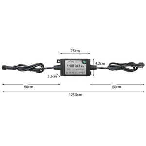 DC 12V Photocell Waterproof Photosensitive Switch Light Control Sensor Switch