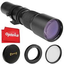 Opteka 500mm Telephoto Lens for Nikon Nikkor 1 Mount Mirrorless Cameras