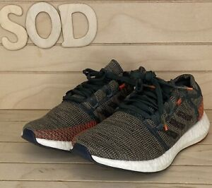 Adidas Men Running shoes D97421 Ivy Coral Black Tan Pure BOOST Go Size 8