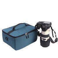Camera Lens Insert Bag Dividers Case Gift Folding DSLR Partition Flexible Padded
