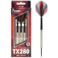 Formula Sports TX280 26gram 80% Tungsten Darts - 3 Darts
