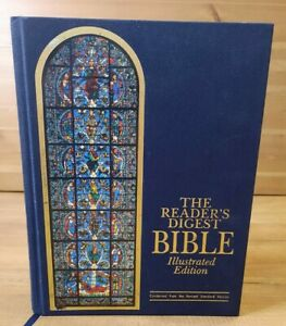 The Readers Digest Bible - Illustrated Edition Hardcover 1008 Pages With Photos