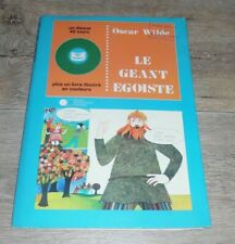 OSCAR WILDE - Le Geant Egoiste Rare Livre Disque Junior Production