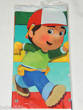 """NEW   HANDY MANNY 1- PLASTIC TABLE COVER 54"""" X 102"""",   PARTY SUPPLIES"""