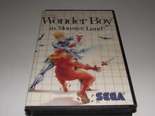 Wonder Boy in Monster Land Sega Master System PAL Preloved *No Manual*