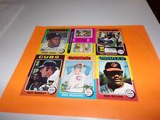 41 Diff. 1975 Topps Baseball (Don Baylor/S. Garvey/B. Madlock/Boog Powell)(10)