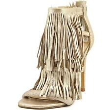 Sandalias con tiras de mujer gris Steve Madden