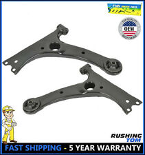 New Pair of (2) Front Lower Control Arms Fits Pontiac Vibe Toyota Corolla Matrix