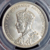 "1935, Canada, George V. Silver ""Jubilee / Voyageur"" Dollar Coin. PCGS MS-64!"