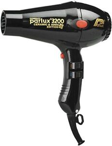 Parlux  3200 Ceramic & Ionic Dryer 1900W, Black - Advanced Results Top Quality