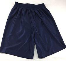 Russell Athletic Navy Blue Unisex Elastic Waist Shorts Size M
