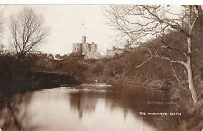 The Castle & River Coquet, WARKWORTH, Northumberland RP