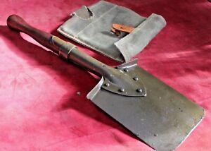 shovel with COVER  Dnepr MT K750 m72 ural mw750  Sidecar vintage GREEN