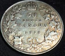 1918 CANADA 50 CENTS