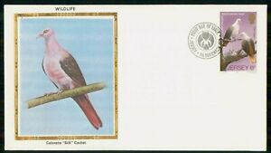 Mayfairstamps JERSEY FDC 1979 COVER WILDLIFE PIRK PIGEON wwk6209
