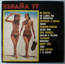 ESPAÑA 77 NUDE SEXY COVER SPANISH LP