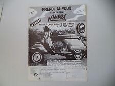 advertising Pubblicità 1984 WIMPEX e VESPA PX 125