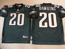 91206 Reebok Philadelphia Eagles BRIAN DAWKINS Sewn Football JERSEY GREEN New