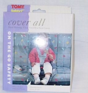 Tomy Car Cover-All - Protect Your Car from Mud, Dirt and Spills - Wipes Clean!