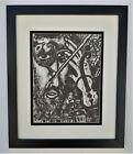 Marc Chagall The Fiddler Art Sign Framed