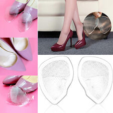 Silicone Gel Cushion High Heel Shoes Insole Pads Inserts Foot Care Support Pads