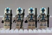 Star Wars 501st Legion Special Storm Clone Troopers Mini Figures use with lego