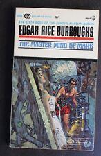 EDGAR RICE BURROUGHS BALLANTINE U2036 MASTER MIND OF MARS JOHN CARTER VG+ 1st