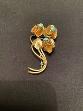 BEAUTIFUL 14K GOLD BROOCHE/PIN 10.5 GRAMS