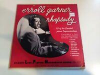 "Erroll Garner - Rhapsody VG+ Original Press 10"" Atlantic Record 1950 Piano Jazz"