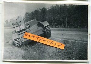 Foto - 2 : Flammpanzer / Panzer mit Flammenwerfer aus Rußland im 2.WK