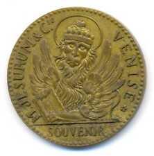 Jewish Merchandise Michelangelo Jesurum Venise Expo Paris Souvenir Medal 1889