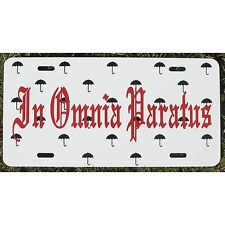 Gilmore Girls In Omnia Paratus Car Tag Life and Death Brigade License Plate