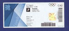 Orig.Ticket  Olympic Games LONDON 2012   HANDBALL  1/4 FINAL  RUSSIA - KOREA  !!