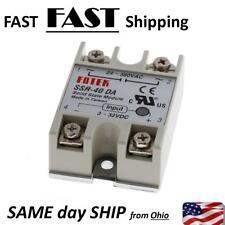 40 AMP solid state relay ---- DC 3v 5v 10v 12v 24v 32v --- 3-32 VOLT DC