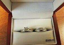 Diamond Engagement/Wedding ring set from Cherish Always