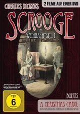 SCROOGE FILM DI NATALE Classico A CALORE CAROL 2 DVD Box CHARLES DICKENS Nuovo