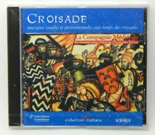 Croisade: Music from the Time of the Crusades ~ NEW CD (1998, Solstice) Medieval
