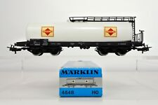 MARKLIN HO SCALE 4648 DB GASOLIN TANK CAR