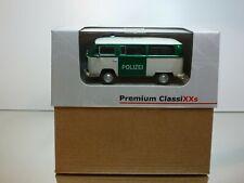 PREMIUM CLASSIXXS 11304 VW VOLKSWAGEN T2 BUS POLIZEI - 1:43 - EXCELLENT IN BOX