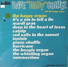 """DAVE """"BABY"""" CORTEZ & HIS HAPPY ORGAN - CLOCK LBL LP"""