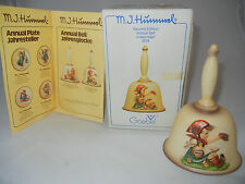 Goebel Year Bell 1979 Good Bye + Original Box (My Item no. 79-10)