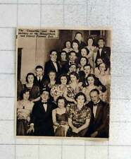 1939 Bannockburn And District Farmers Ball Committee And Partners