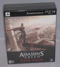 Assassins Creed Ezio Saga coleccionistas limitada PS3 Japón Paño de bonificación de pedido previo
