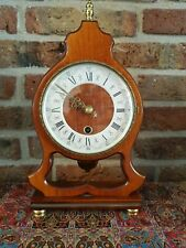 Vintage Wooden Dutch Table clock (Orfac from 1960)