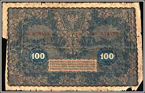 Poland 100 Marek 1919 Pick 27