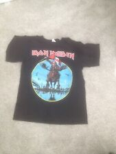 Iron Maiden Tour T Shirt - Black, XL- Maiden England Canadian Tour 2012