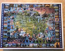 White Mountain Jigsaw Puzzles United States Presidents 1000 Piece 1994 SEALED